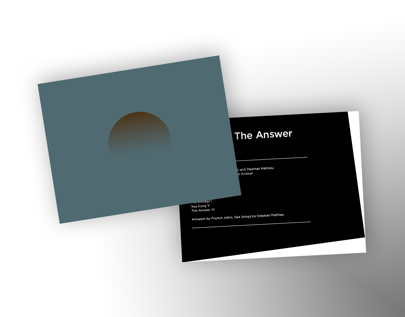 Music for The Answer Postcard